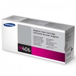 Cartridge Samsung CLT-M406s, červená náplň, ORIG.