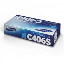 Cartridge Samsung CLT-C406s, modrá náplň, ORIG.