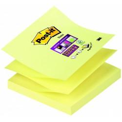 Samolep. bloček 76x76 mm Post-it Z-Z 6x100 lístků, mix barev