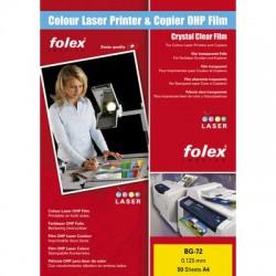 Folie A3 pro bar. kopírování a tisk Folex BG-72, 50 ks
