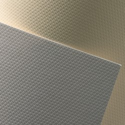 Ozdobný papír Křišťál bílý 230g, 20ks