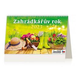 """S15-22 - stolní kalendář """"Zahrádkářův rok"""""""