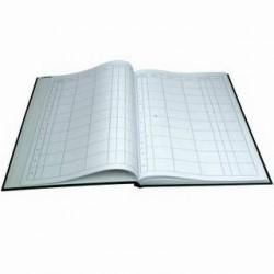 Kniha došlé pošty A4, 100l, pevné desky