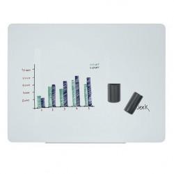 Skleněná magnetická tabule 120 x 90 cm
