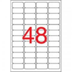 Etikety bezpečnostní, 45,7 x 21,2 mm, 480ks