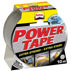 Páska 50mm x 10m, Pattex Power tape, stříbrná