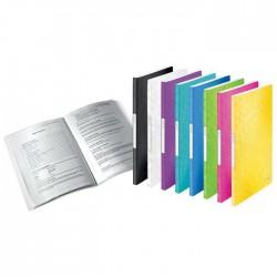 Prezentační desky WOW A4-20 kapes, tyrkysové