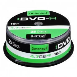 DVD-R Intenso, 4.7GB, 16x, CakeBox 25 ks