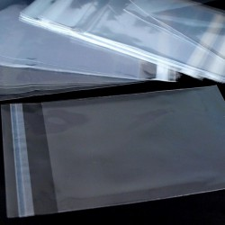 Sáček celofánový samolepící, 14x14cm, 10ks