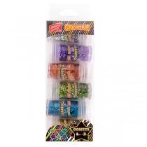 Sada konfet Easy 6 barev, 6x8g, 838945