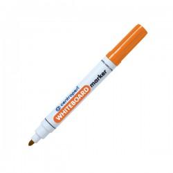 Popisovač 8559 hrot 5 mm, za sucha stíratelný, oranžový