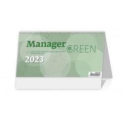 """S58-22 - stolní kalednář """"Manager Green"""""""