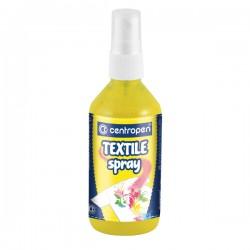 """Barva na textil """"Textil spray Centropen 1139"""", žlutá"""