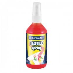 "Barva na textil ""Textil spray Centropen 1139"", červená"