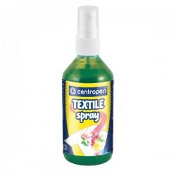 """Barva na textil """"Textil spray Centropen 1139"""", zelená"""