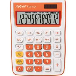 Kalkulačka Rebell SDC 912, 12 míst, oranžová