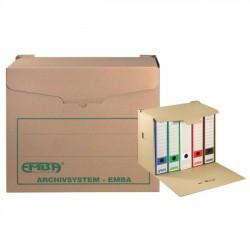 Arch. kontejner EMBA 400x265x335 mm, hnědá