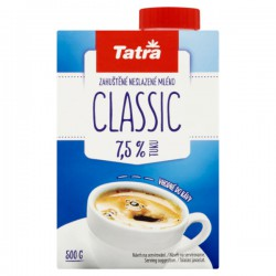 TATRA Classic, kondenzované mléko, krabice 500 g