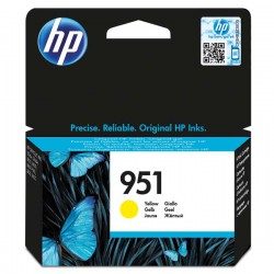 Cartridge HP č.951, CN052AE, žlutý ink., ORIG.