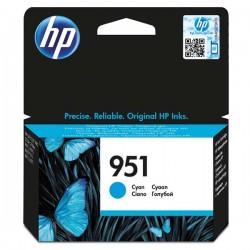 Cartridge HP č.951, CN050AE, modrý ink., ORIG.