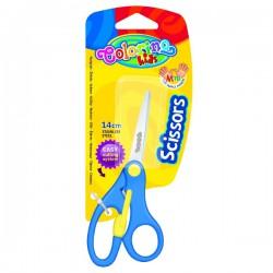 Nůžky 140 mm, dětské, kulaté špičky, Colorino