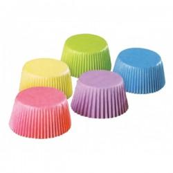 Cukrářský košíček 25x18 mm barevné, 200 ks