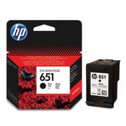 Cartridge HP č.651, C2P10AE, černý ink., ORIG.
