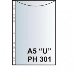"""Zakládací obal závěsný A5 """"U"""", PH301, PP matný, 100 ks"""