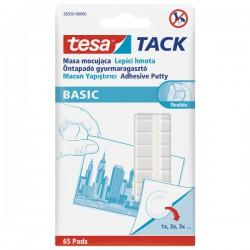 Tesa Tack, plast.hmota k připevnění předmětů, 65 ks