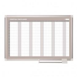 Tabule magnetická, roční plánovací, 60 x 90 cm