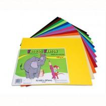 Karton kresl. A3/180g 12x5 archů, mix barev