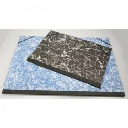 Desky na výkresy A4, s rožky, hřbet, gumičky