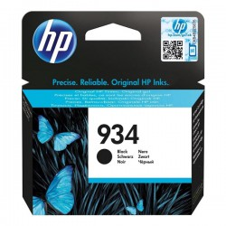 Cartridge HP č.934, C2P19AE, černý ink., ORIG.