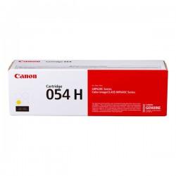 Cartridge Canon 054HY, žlutý tisk, ORIGINÁL