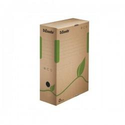 """Archivační krabice """"ECO"""", přírodní hnědá, 100 mm, A4"""
