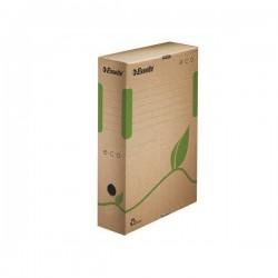 """Archivační krabice """"ECO"""", přírodní hnědá, 80 mm, A4"""