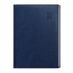 BDD6-1 - denní diář A5 Vivella, modrý