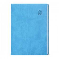 BDD6-11 - denní diář A5 Vivella, světle modrý
