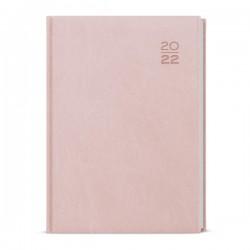 BDD6-20 - denní diář A5 Vivella, pastelový růžový