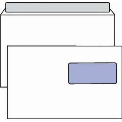 Obálka C5, 162x229, okénko, krycí páska, 1000 ks, 221-C53