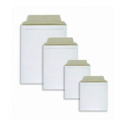 Kartonová obálka B3, 42 x 54 cm, bílá