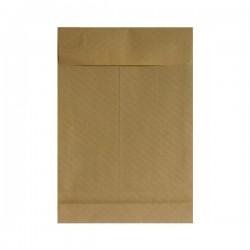 Poštovní taška B4, X dno, hnědá, neroztrhnutelná, samolepící