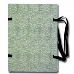 Fasciklové desky A4, tkanice, stroj. potažené, černá hadinka