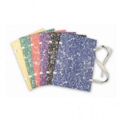 Fasciklové desky A4, tkanice, knihařské, modré