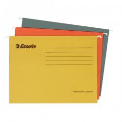 """Registr. desky """"V"""" závěsné PENDAFLEX RECYKL, 93055, žluté"""