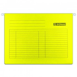 """Registr. desky """"V"""" závěsné DONAU, žluté"""