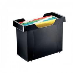 Kontejner na závěsné desky LEITZ PLUS, 8 desek, černý