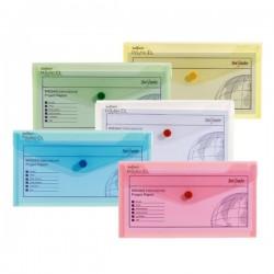 Desky DL, klopa + patentka, transparent, sada - 5 barev