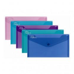 Desky DL, klopa + patentka, ELECTRA, sada - 5 barev