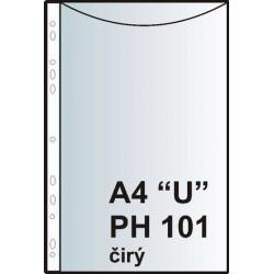 """Zakládací obal závěsný A4 """"U"""", PH101, PP hladký, 100 ks"""